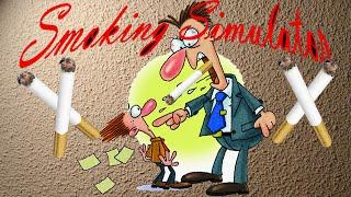EL JEFE MAS ATERRADOR :S - Smoking Simulator - JYS
