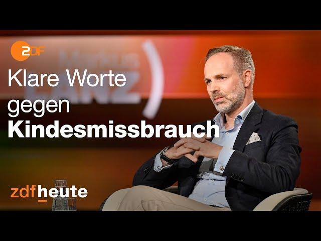 Kriminalbeamter fordert besseren Schutz vor Kindesmissbrauch | Markus Lanz am 09.06.2020