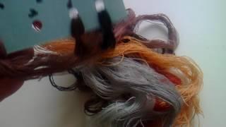"""Вышивка крестом: коты на крыше""""зима"""" от фирмы риолис, обзор набора и готовая вышивка"""