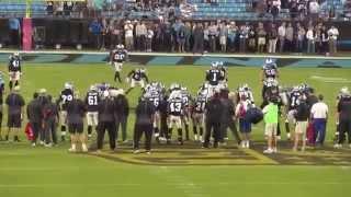 Philadelphia Eagles @ Carolina Panthers 2015 Bank of America Stadium walk in.