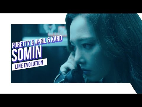 PURETTY & APRIL & KARD - Somin (Line Evolution)