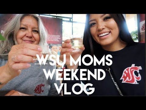 MOMS WEEKEND VLOG // WSU