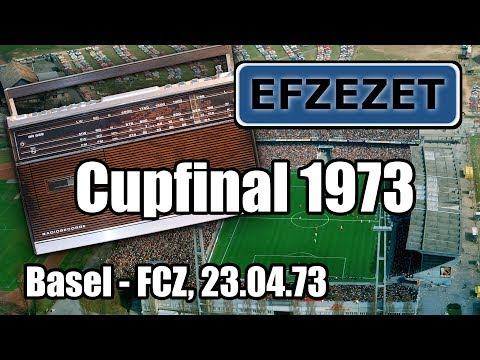 Basel - FCZ, Cupfinal 1973 (Radio Direktübertragung)