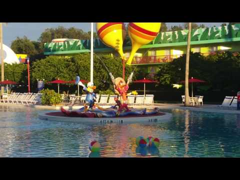 Disney all star music pool