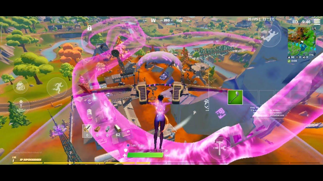 فورت نايت الجوال جيم بلاي   Fortnite mobile gameplay