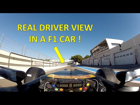 First Time PURE F1 Driver POV Full HD  Extreme
