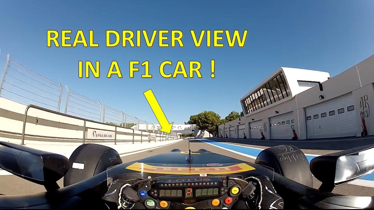 Formula 1 Driver Cockpit Camera