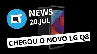 LG apresenta o Q8; Banco de vozes aberto e gratuito; Imagem do Nokia 8 vaza e+ [CT News]