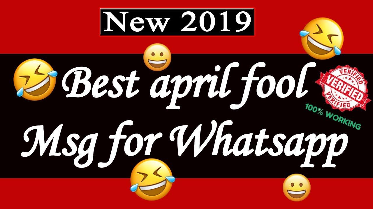 April Fool Whatsapp Msg Whatsapp April Fool Pranks April Fool Status For Whatsapp Prank Video