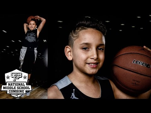 Elias Mayer GOES TO WORK at 2017 CP3 NMSC Camp - Class of 2024 Basketball