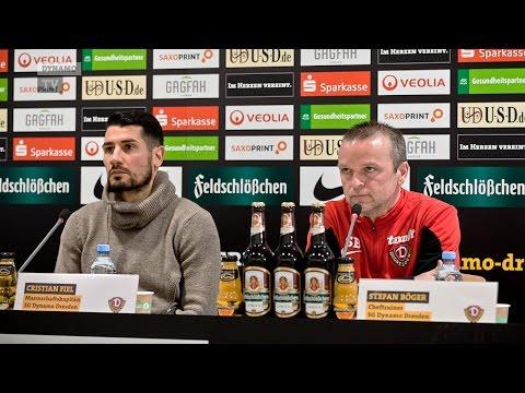 24. Spieltag | SGD - RWE | Pressekonferenz vor dem Spiel