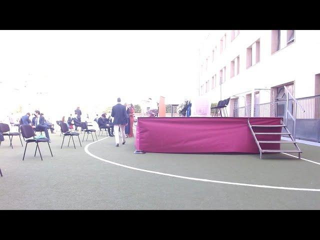 Graduación RMSI 2º Bachillerato 2019 - 2020