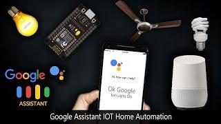 Google Assistant | Home Automation IOT | NodeMCU ESP8266