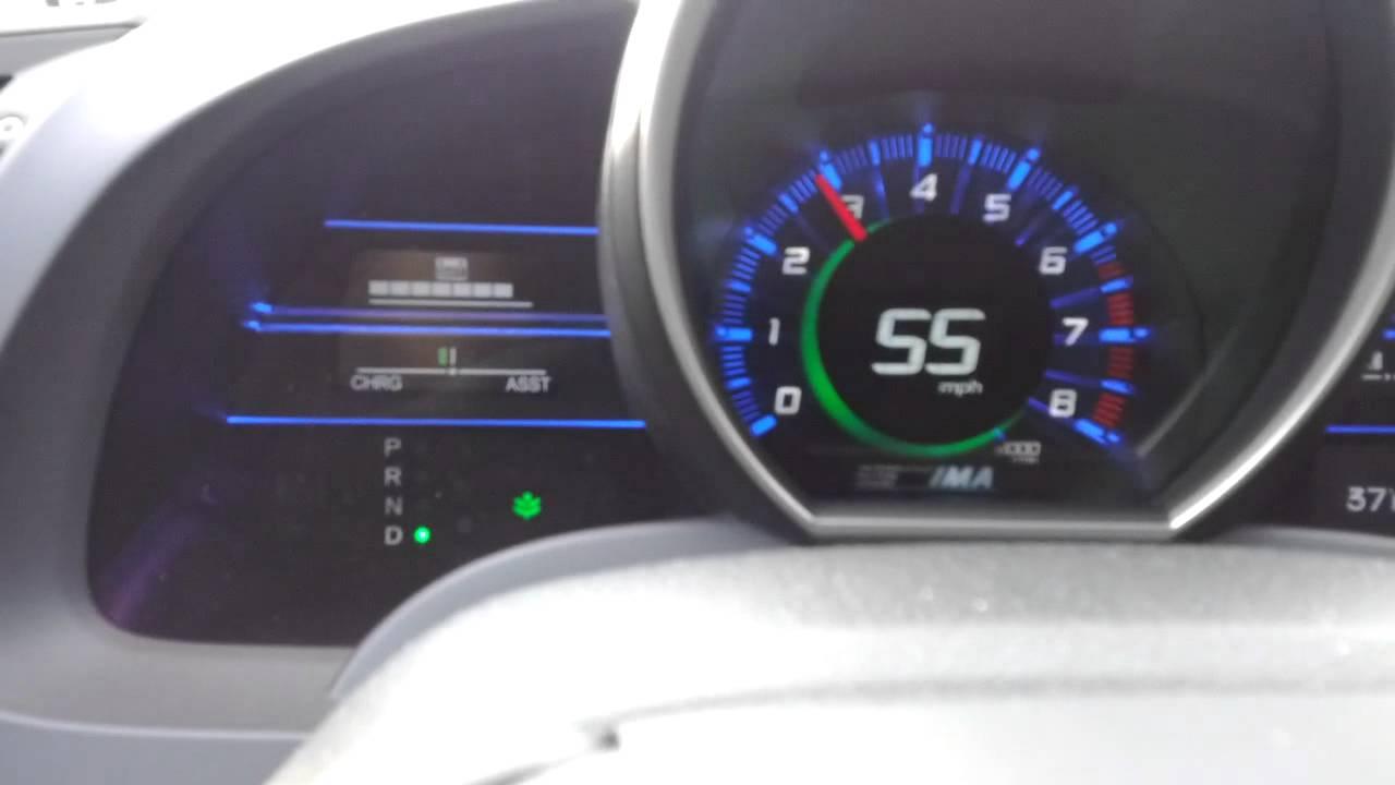 Honda Cr Z Ima Problem 1 Youtube