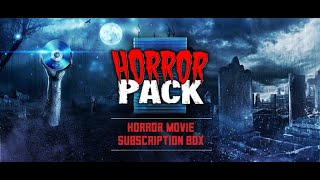 April 2019 Horror Pack Blu Ray Unboxing