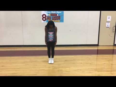 Try outs dance 2017 (front/back view)