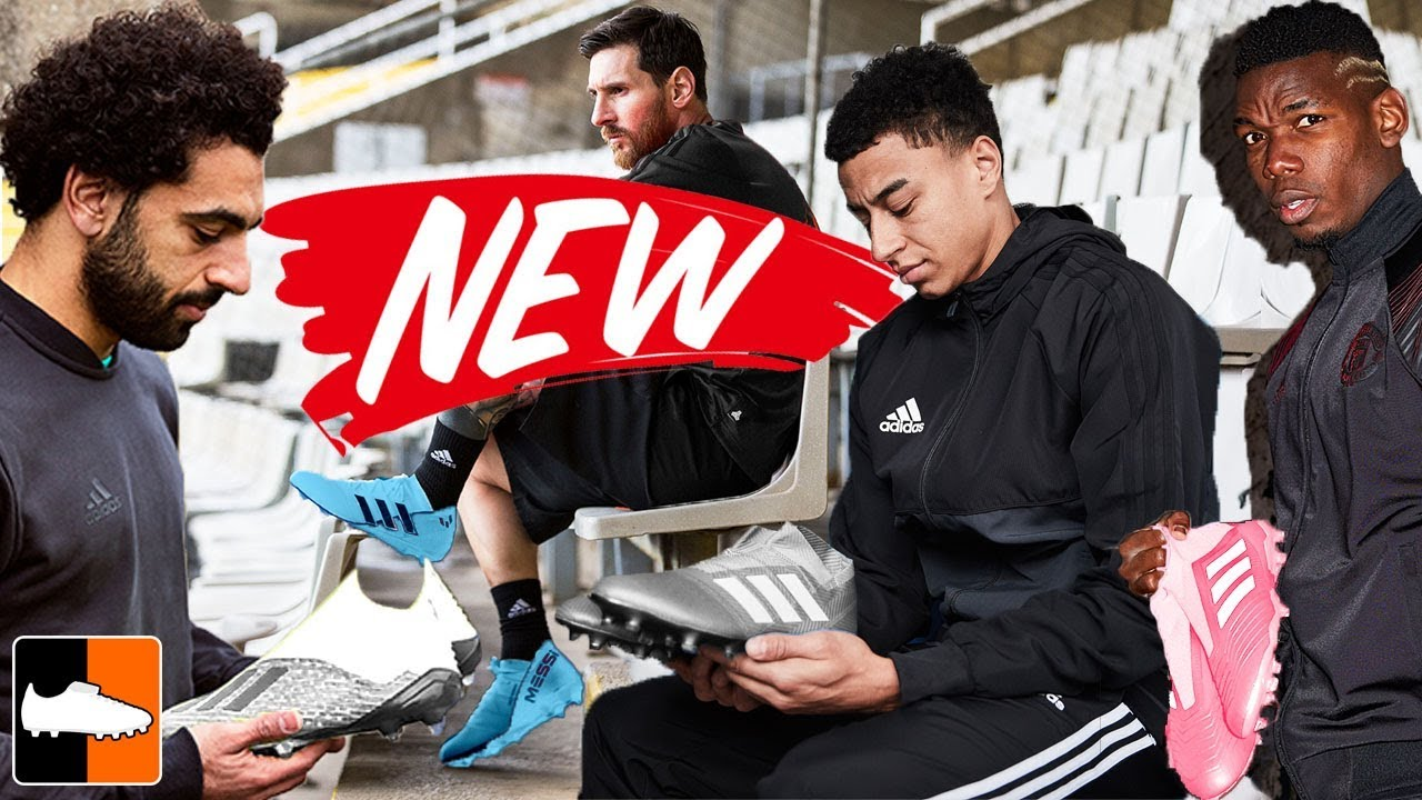 New Boots For Messi, Pogba, Salah & Bale! SPECTRAL MODE