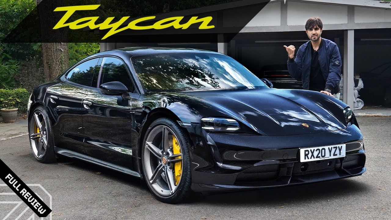 2021 Porsche Taycan Turbo S! The Electric Sports Car!!
