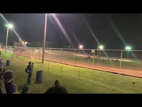 Sport mod roll over Ohio valley speedway