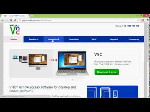Install Real Vnc Viewer On Windows Youtube