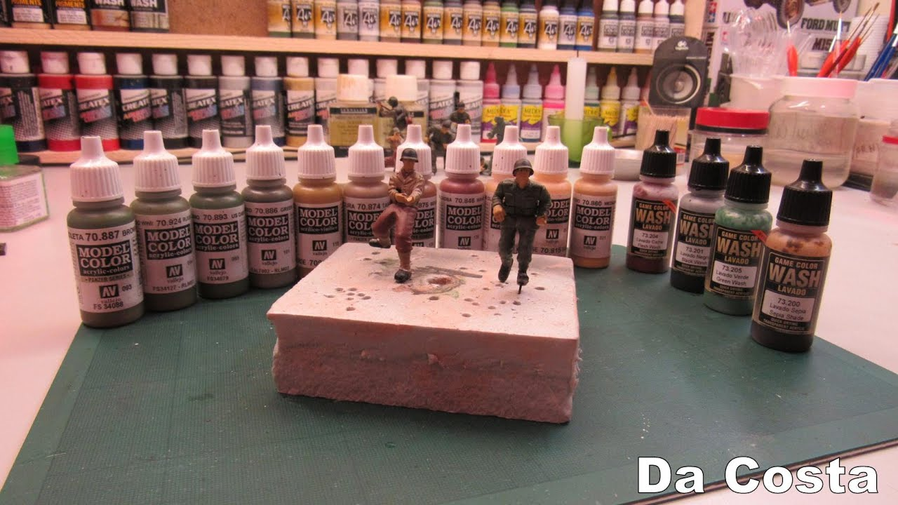 Game color vallejo - Colors To Paint Ww2 American Soldiers Vallejo Colors