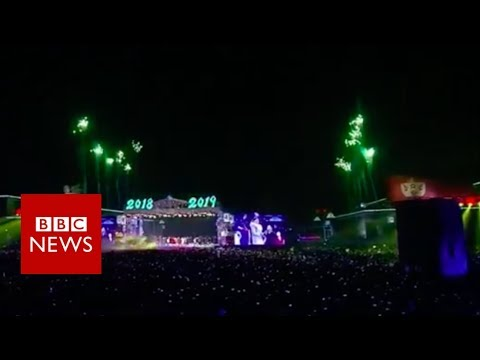 New Year Celebrations: Japan and North Korea welcome in 2019  - BBC News