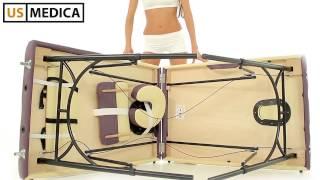 Складной массажный стол US MEDICA Master(http://www.us-medica.ru/master.php Многофункциональный складной стол для массажа