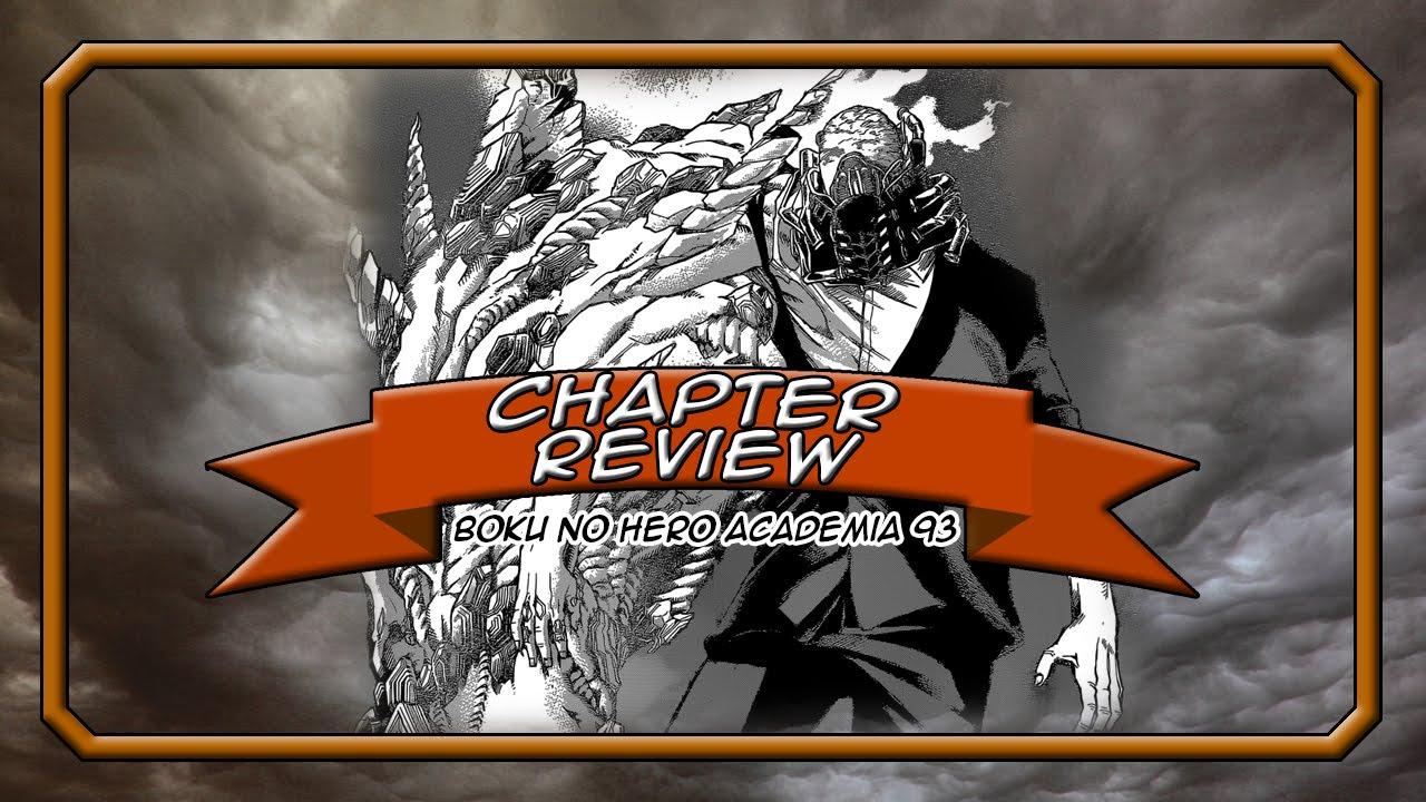 Boku no hero academia review brutal gamer - Boku No Hero Academia My Hero Academia Chapter 93 All Might S Last Stand