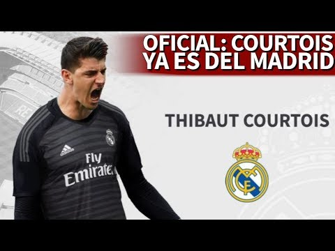Courtois ficha por el Real Madrid por 35 Millones de € - Diario AS - 동영상