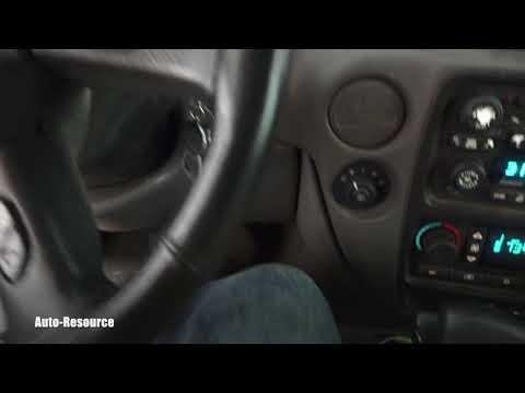 How To Reset Service Light On Chevrolet Trailblazer