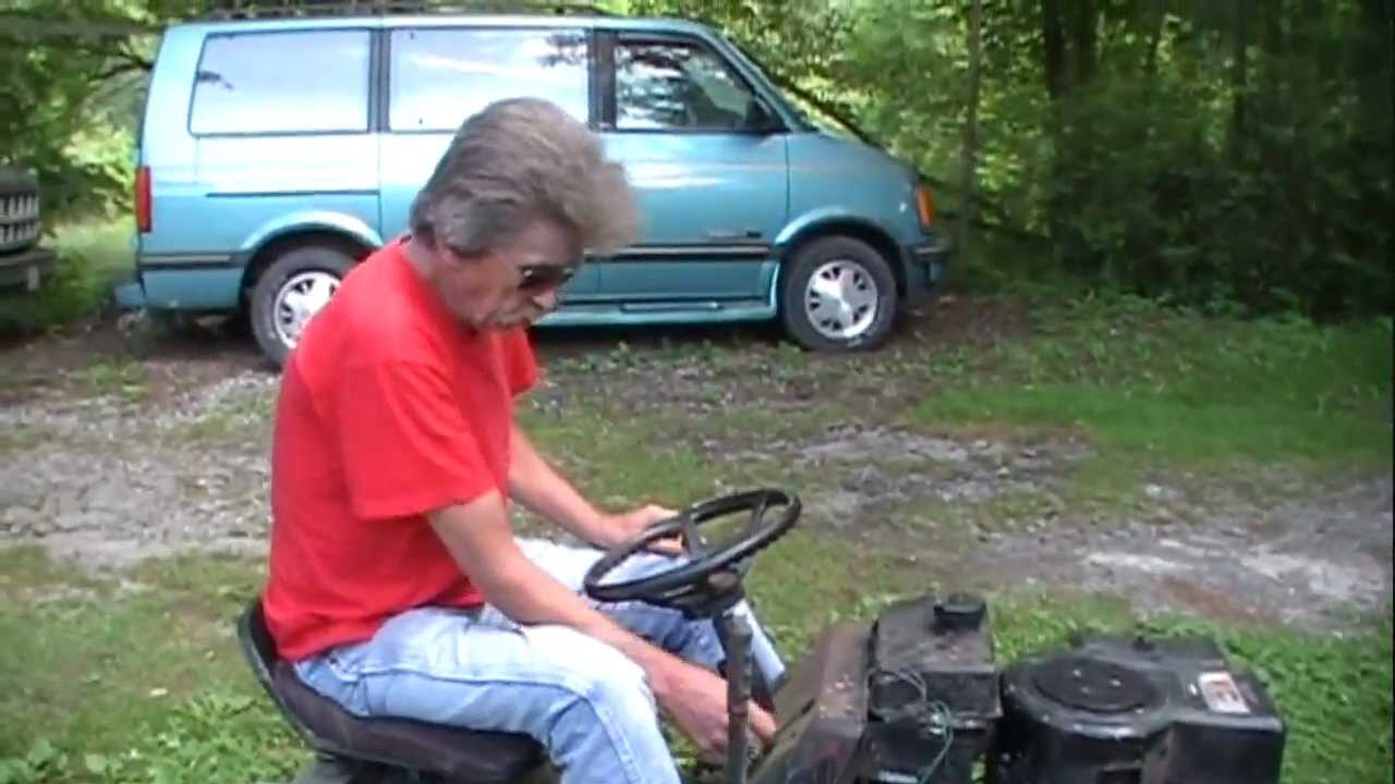 A Different Way to Speed-Up Your Riding Lawnmower