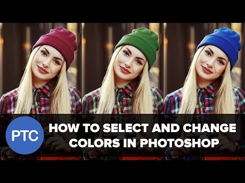 How To Select And Change Colors In Oshop