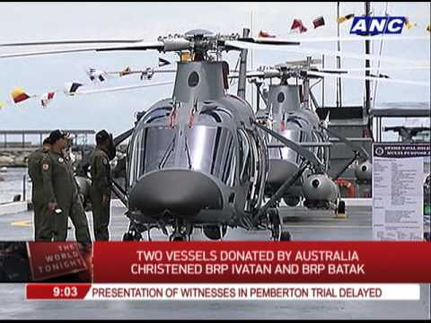 Philippine Navy gets 2 ships from Australia
