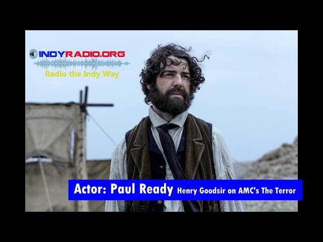 The Terror's actor Paul Ready on Preparing for his role and finding the real Terror