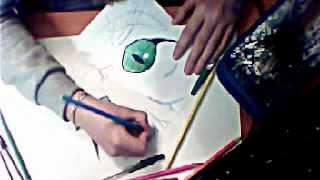 рисую чеширского кота:з