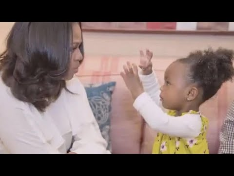 2-year-old Parker Curry sits down for adorable interview after meeting Michelle Obama