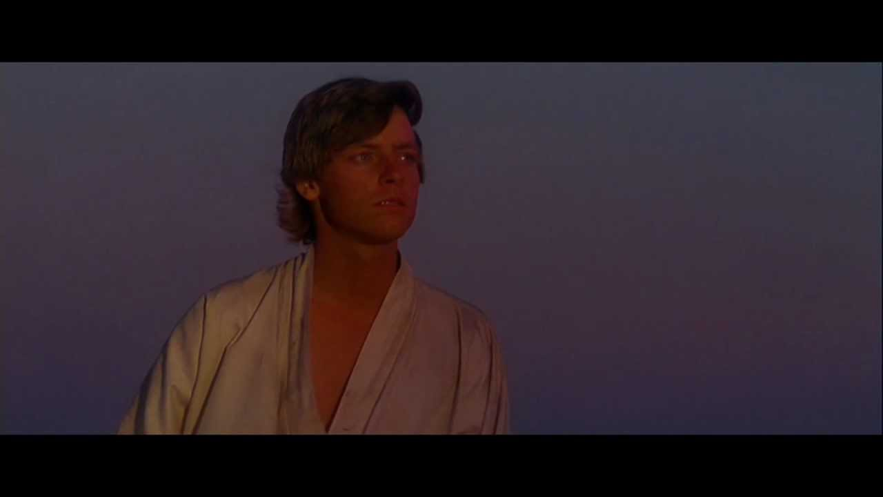 Star Wars Iv A New Hope Binary Sunset Force Theme Youtube