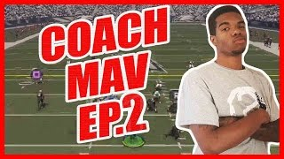 Coach Mav Ep.2 - DOES HE HAVE THE JUICE?!! | Madden 16 Gameplay