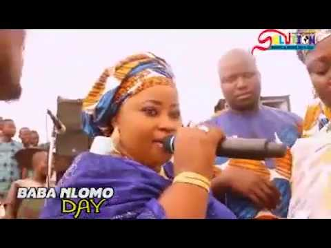 Download AMEERAT AJAO OBIRERE EXCLUSIVE PERFORMANCE AFTER HER MARRIAGE AT BABA NLOMO 2017