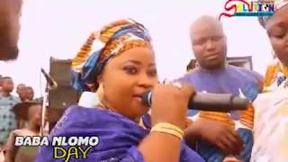 AMEERAT AJAO OBIRERE EXCLUSIVE PERFORMANCE AFTER HER MARRIAGE AT BABA NLOMO 2017