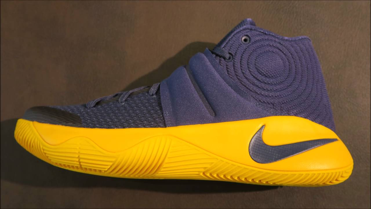 half off 3dce3 c4300 Nike Kyrie 2 CAVS Sneaker Detailed Look Review