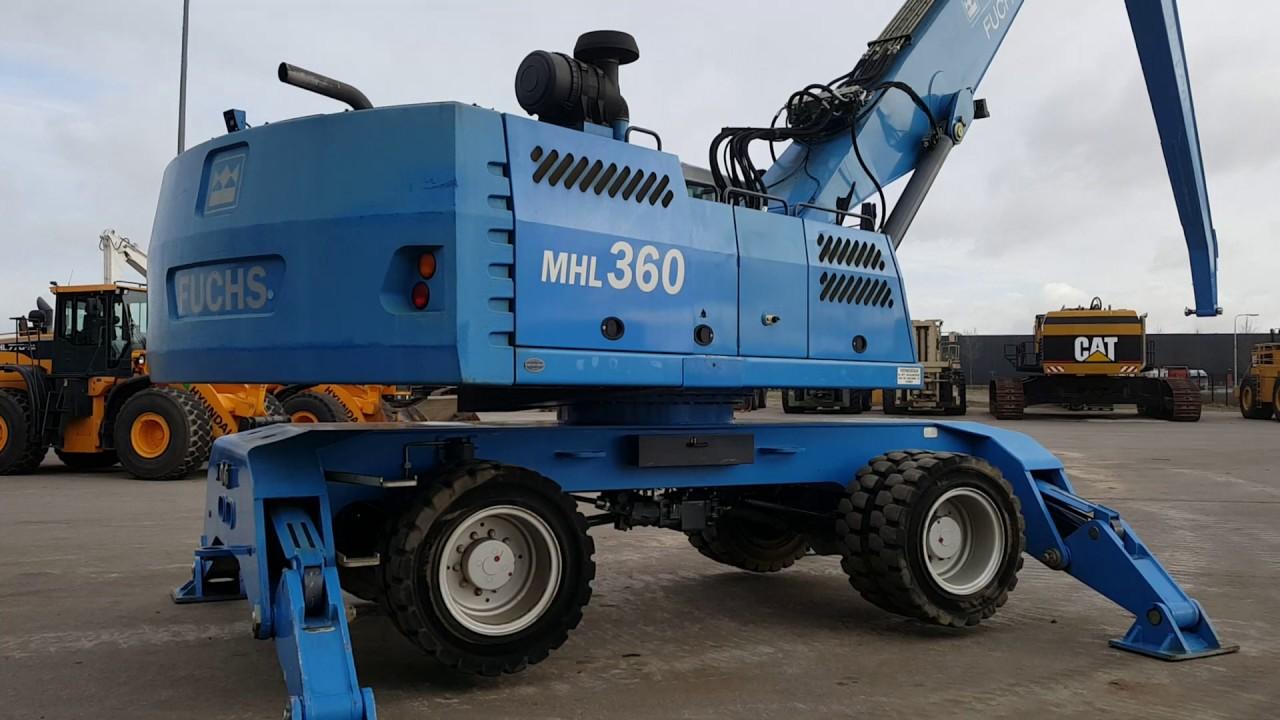Terex-Fuchs Material Handler MHL360D – PRIMA Equipment