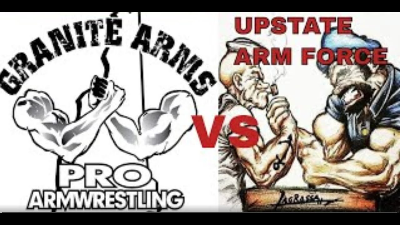 Granite Arm armwrestles Upstate Arm Forces Pt 1 SEE BELOW FOR TIMEFRAME