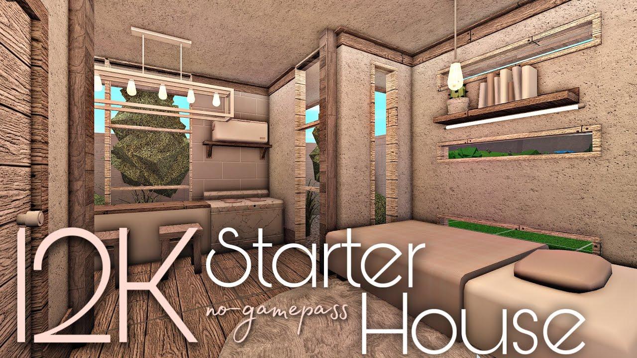 BLOXBURG: 12K STARTER HOUSE | NO-GAMEPASS