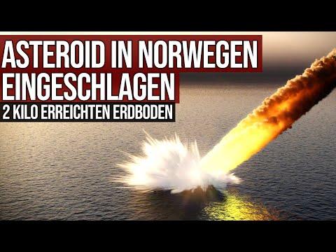 Asteroid in Norwegen eingeschlagen - 2 Kilo erreichten Erdboden