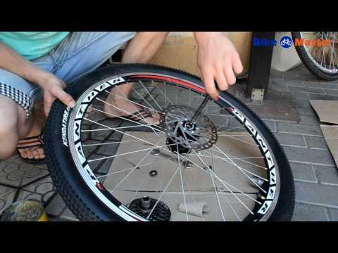 Видео Ремонт колеса велосипеда