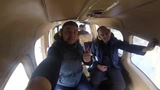 Учусь летать на вертолете