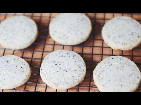 Earl grey cookie /  얼그레이 쿠키 (홍차 쿠키)
