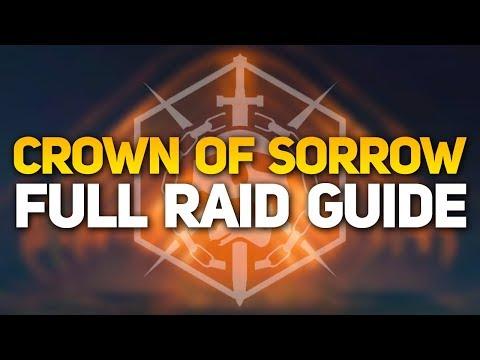 Destiny 2: Crown of Sorrow Raid - Full Guide for All Encounters