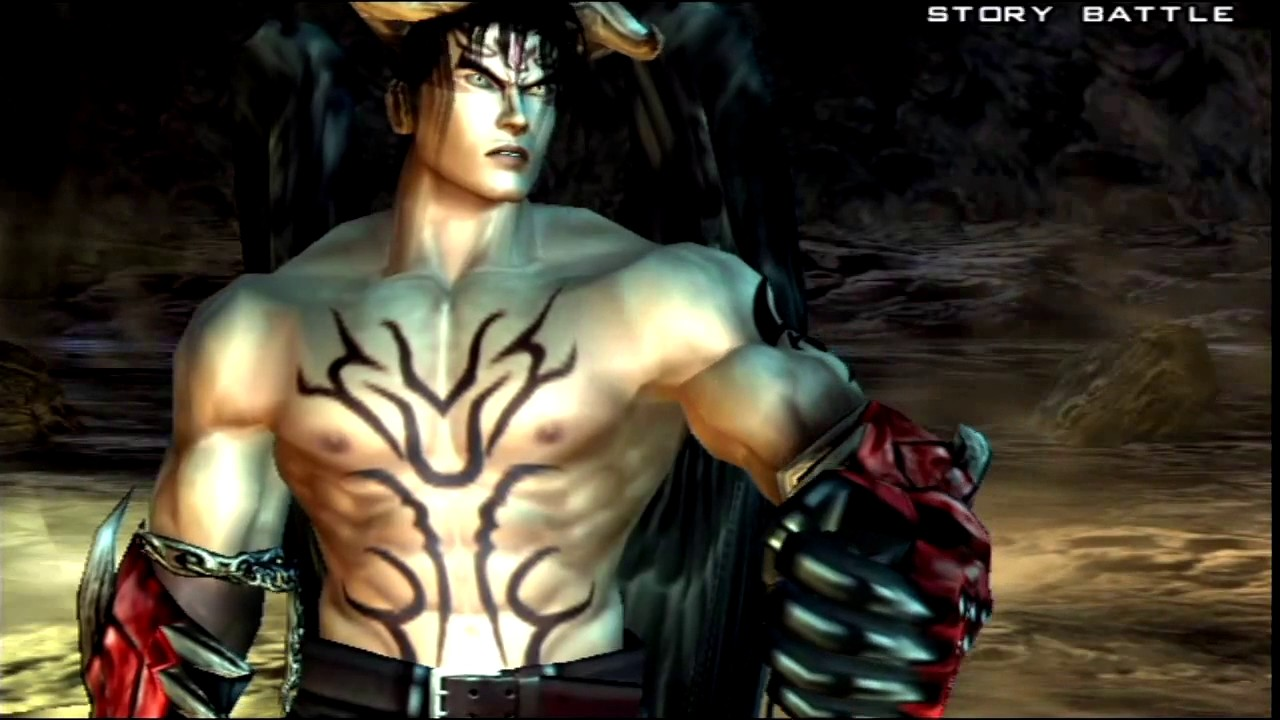 Tekken 5 Playstation 2 Story Battle As Devil Jin Youtube